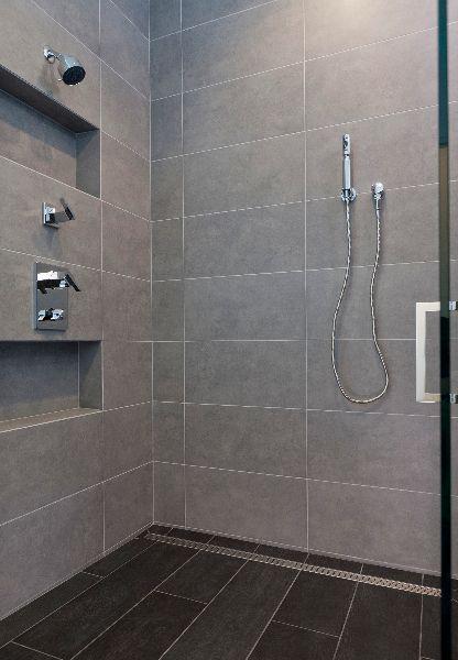 Image Result For Staggered 12 X24 Floor Tiles Up Wall In Bathroom Large Shower Tile Bathroom Shower Tile Shower Tile