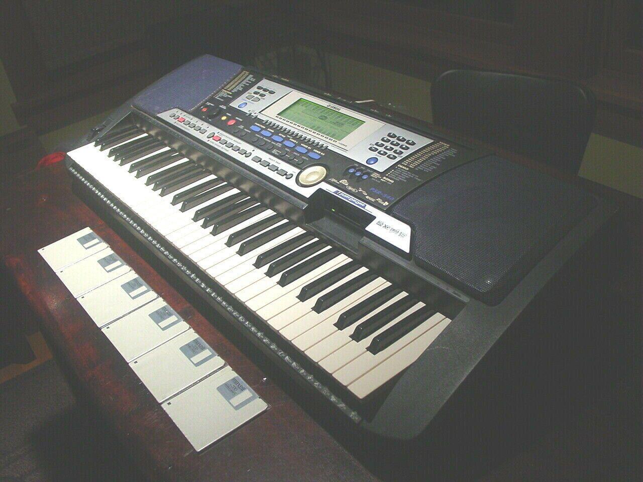Yamaha Psr 540 Piano Keyboard Fdd Floppy Drive Midi Arrangment Power Supply Piano Piano Pianodecor Yamaha Keyboard Yamaha Keyboard Psr Mini Keyboard Piano