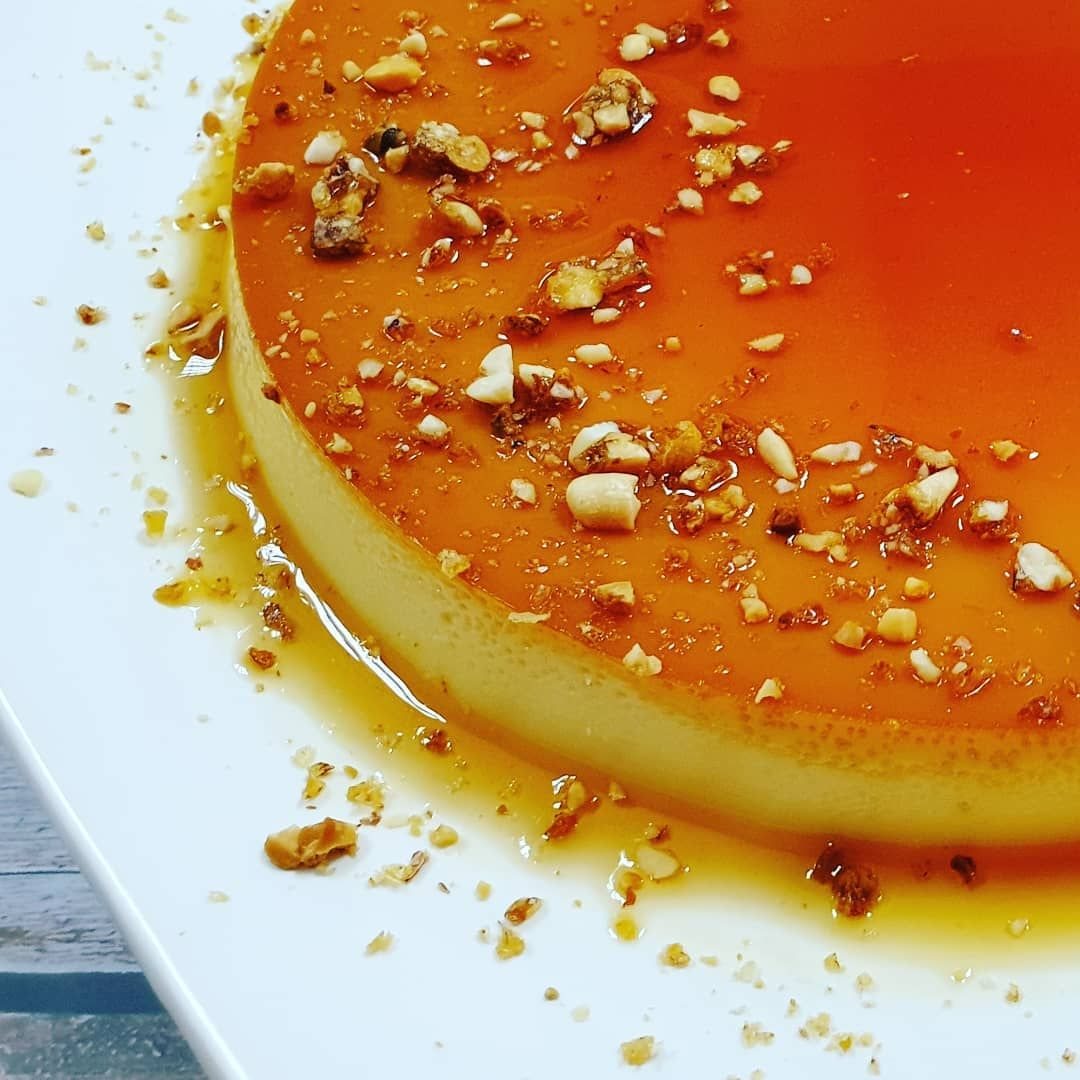 Caramel with Milkmaid ....#foodphotography