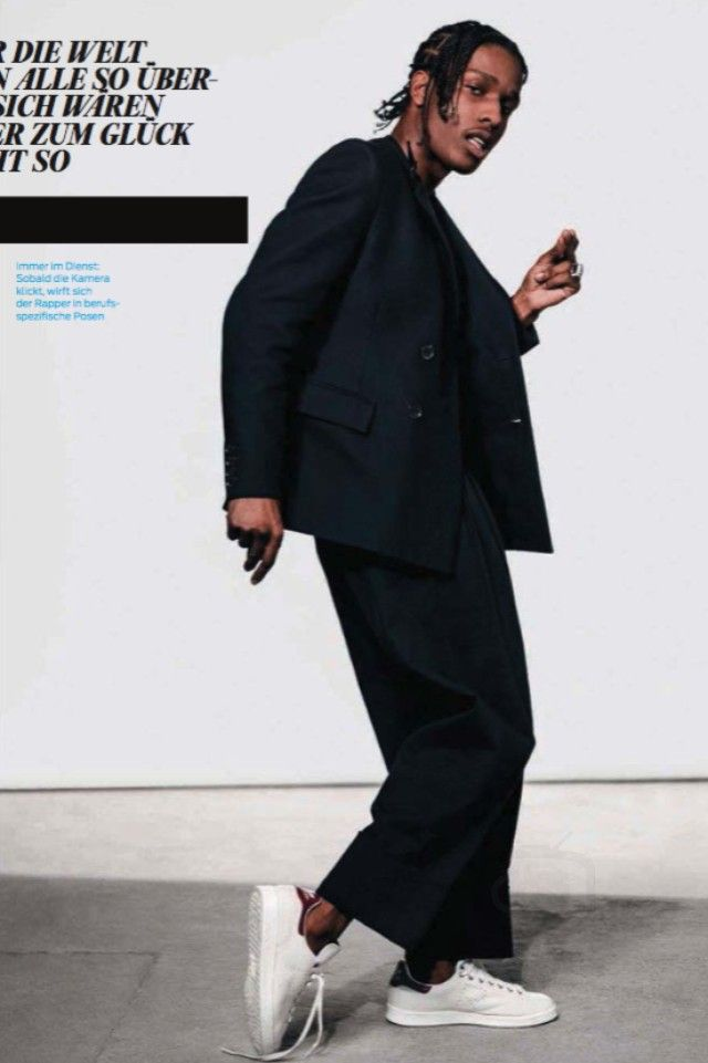 ASAP Rocky - In GQ Germany March 2016 Issue on Looklive