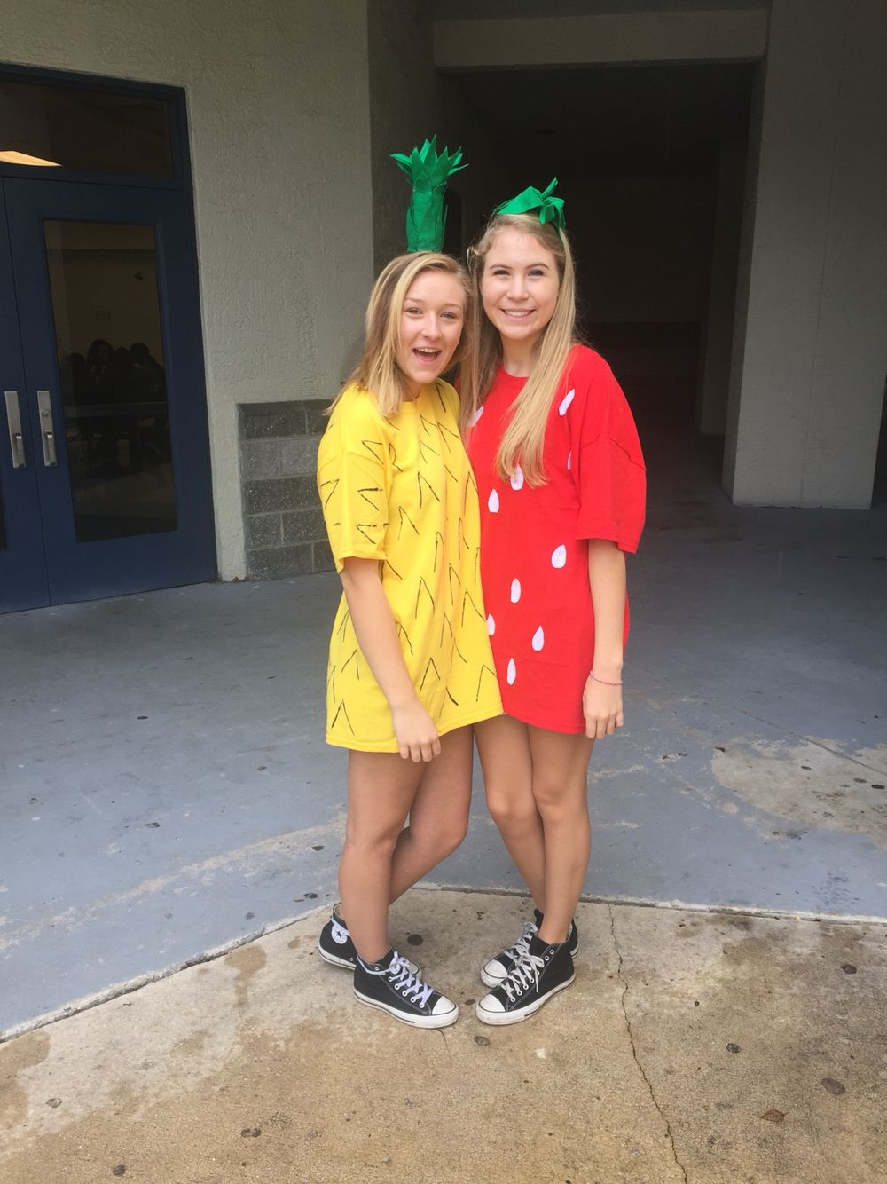 week! Character day strawberry and pineapple