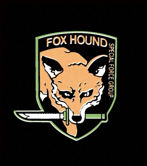 Metal Gear Solid Foxhound Metal Gear Metal Gear Solid The Fox And The Hound