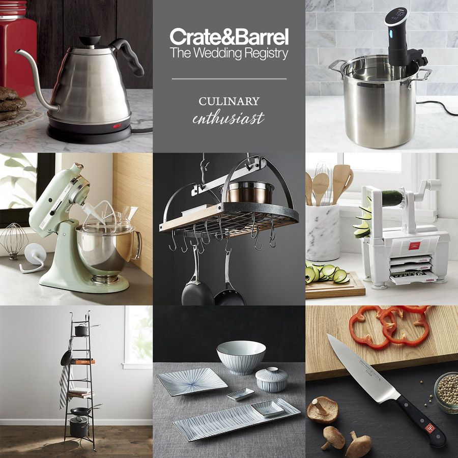 Crate And Barrel Beyond The Basics Wedding Registry Ideas Crates