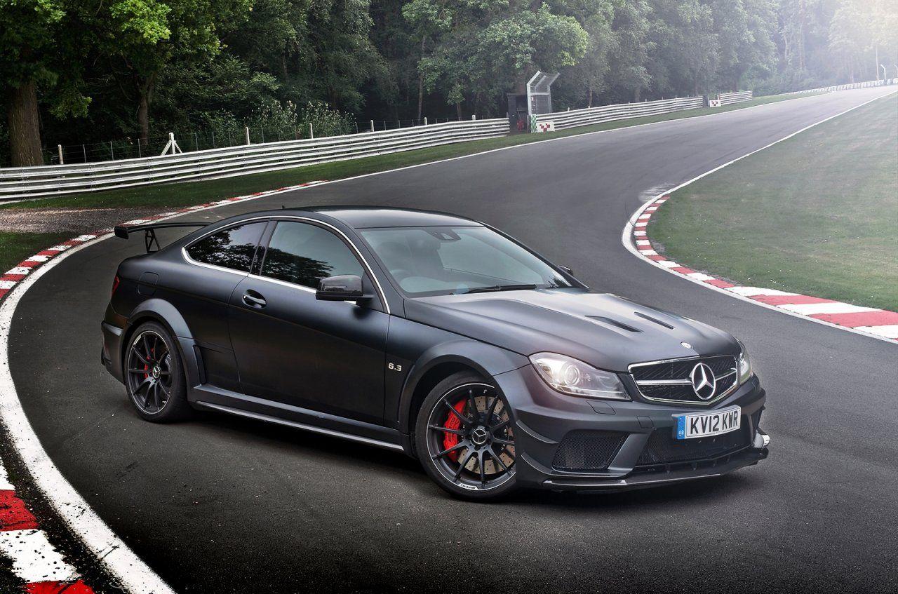 Mercedes c 63 amg coupe black series aerodynamic pack
