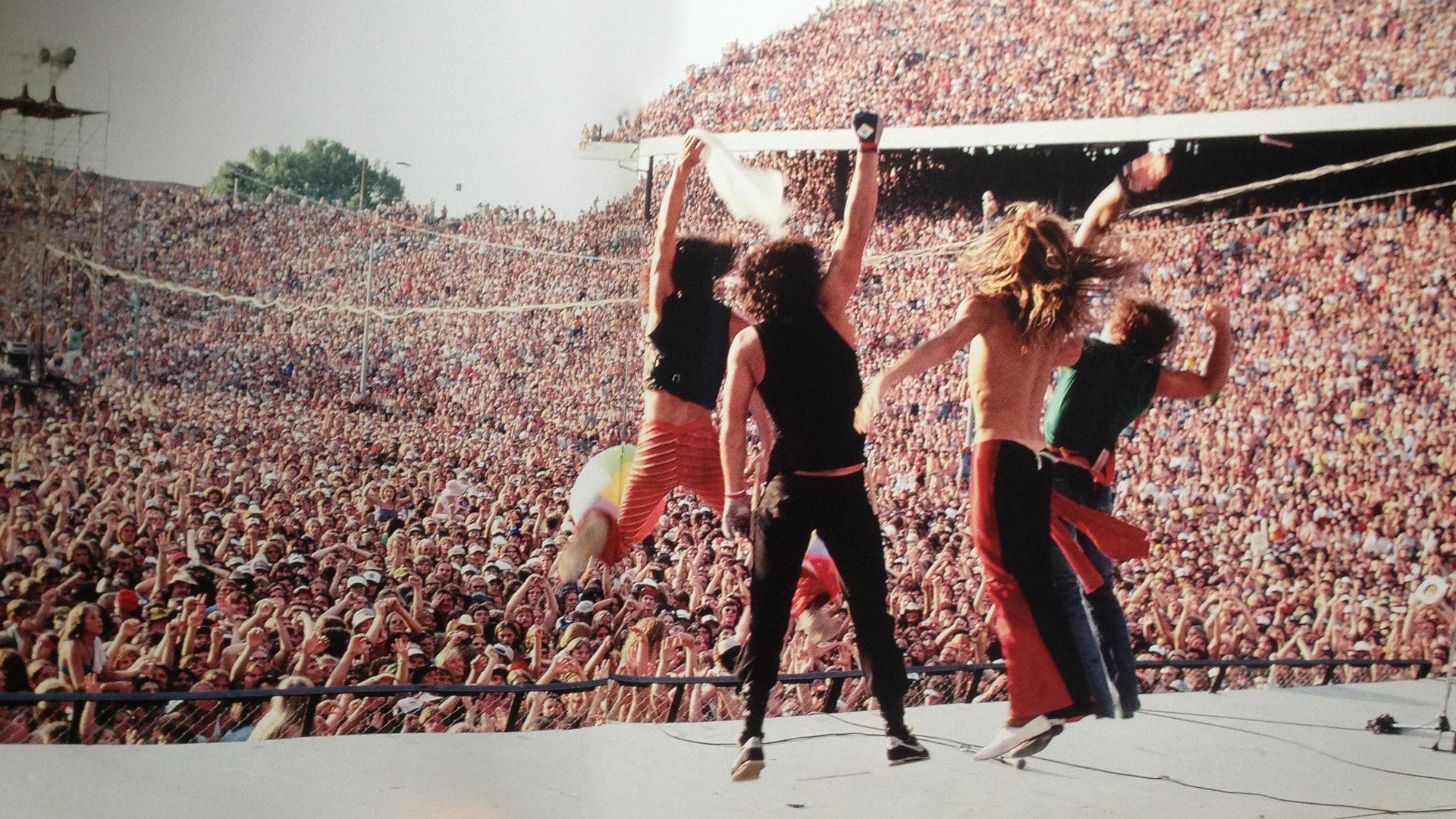 Pin By Marc Micchelli On Texxas Jam Van Halen Eddie Van Halen Heavy Rock