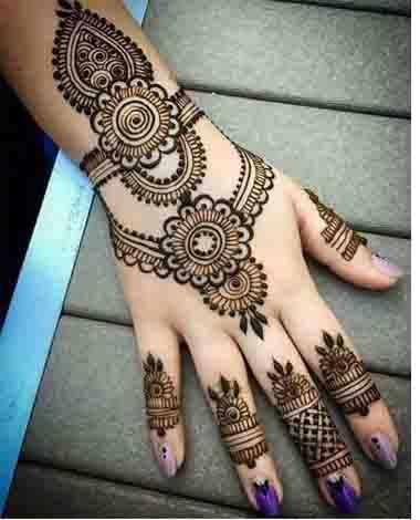 Simple wedding mehndi designs also best mahendi images in rh pinterest