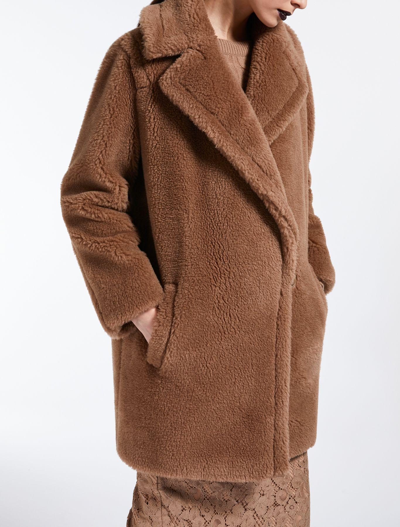 Veste en Fourrure Femme Parka Hiver Manteau Zara Cardigan