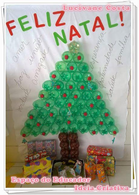 Arvore Natalina De Garrafas Pet Arvore De Natal Natal