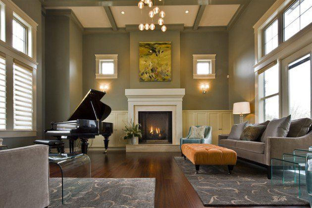 19 Creative Ways How To Decorate Living Room With Piano Part 40