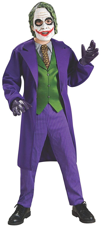 Disfraz oficial deluxe de Joker para niños talla S Una