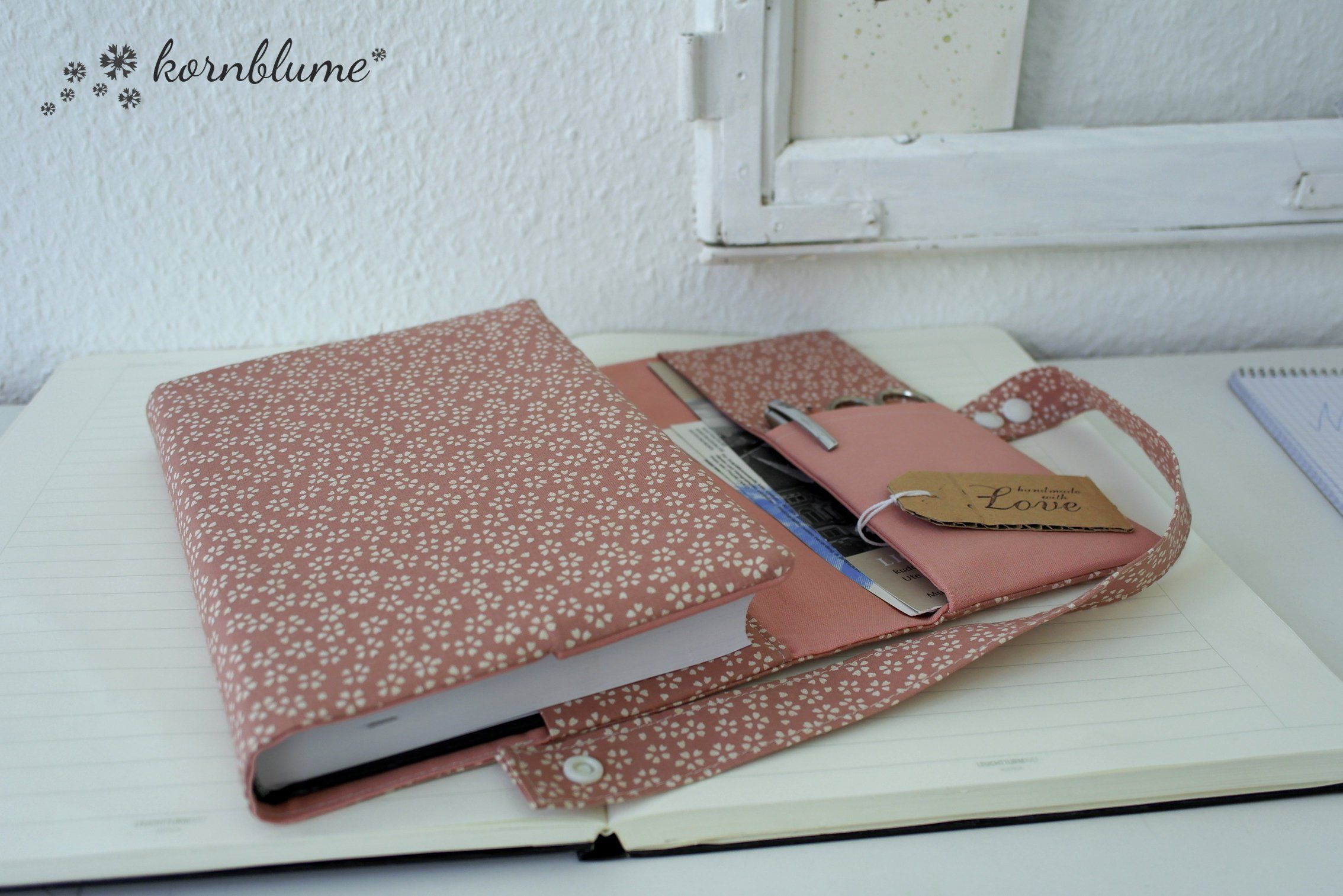 Calendar Case Streublumen Organizer A5 Calendar Book
