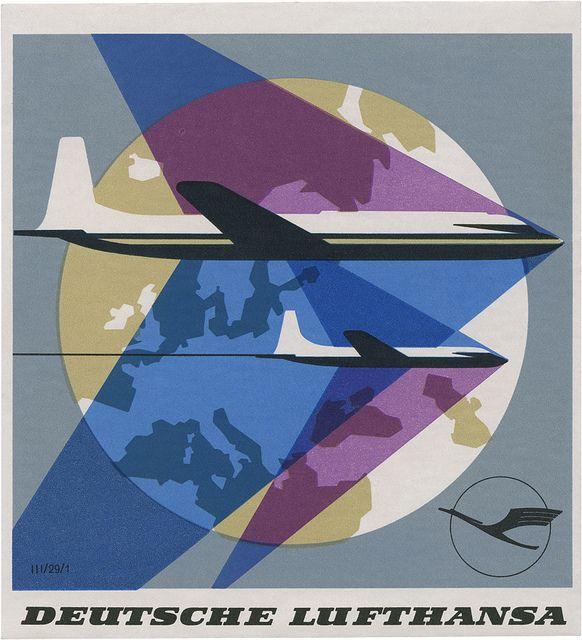 Deutsche Lufthansa (103mm × 94mm)