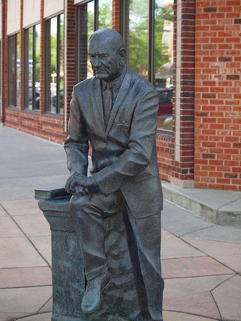 Lyndon B. Johnson Statue, Presidents Tour, Rapid City, South Dakota - 36th President of the United States of America