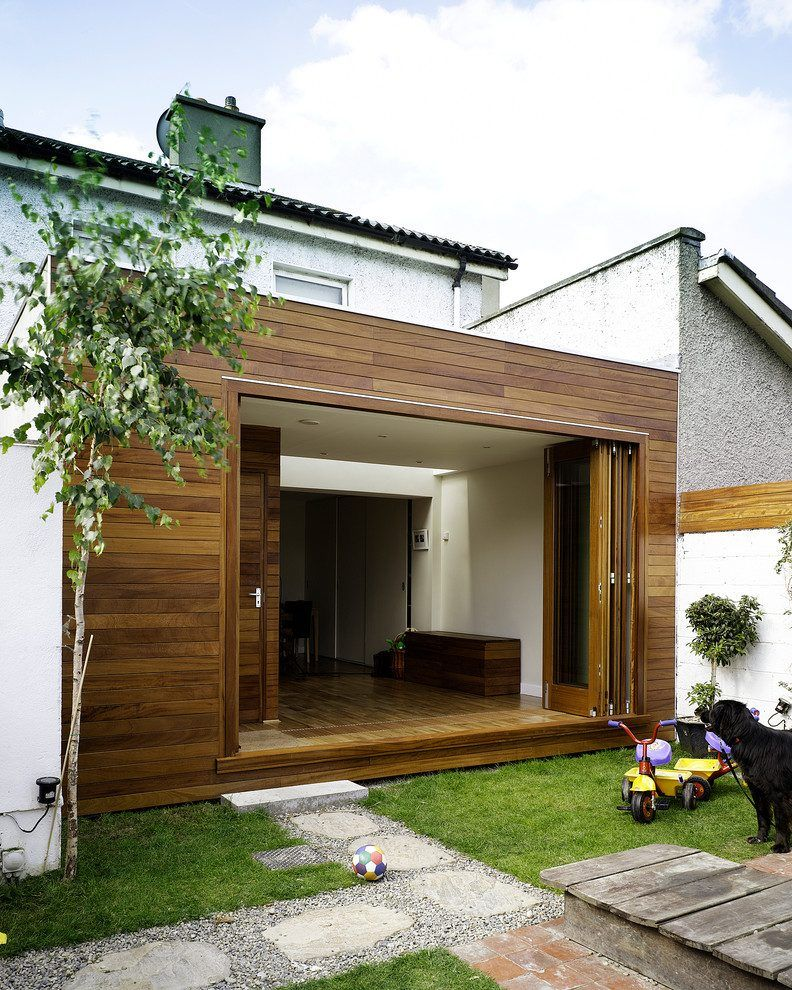 Modern Exterior Wood Siding: Exterior Wooden Wall Exterior Modern With Wood Floors Wood