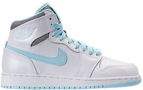 Nike Girls  Grade School Air Jordan Retro 1 High (3.5y-9.5y) Basketball  Shoes 32cd8145d1ef