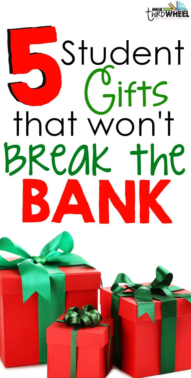 Student Gifts that Won\'t Break the Bank | FifthGradeFlock.com ...