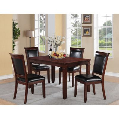 Darby Home Co Ericsson 5 Piece Dining Set