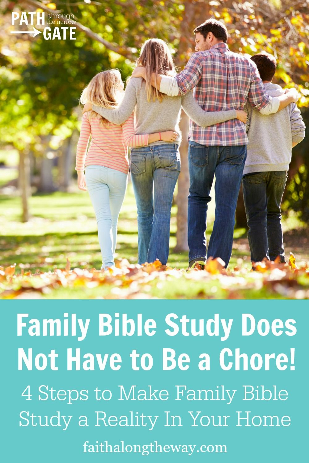 4 steps to making family bible study a reality in your home