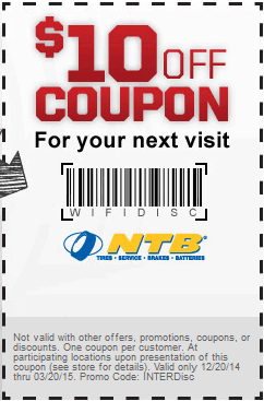 ntb tires coupons 2019