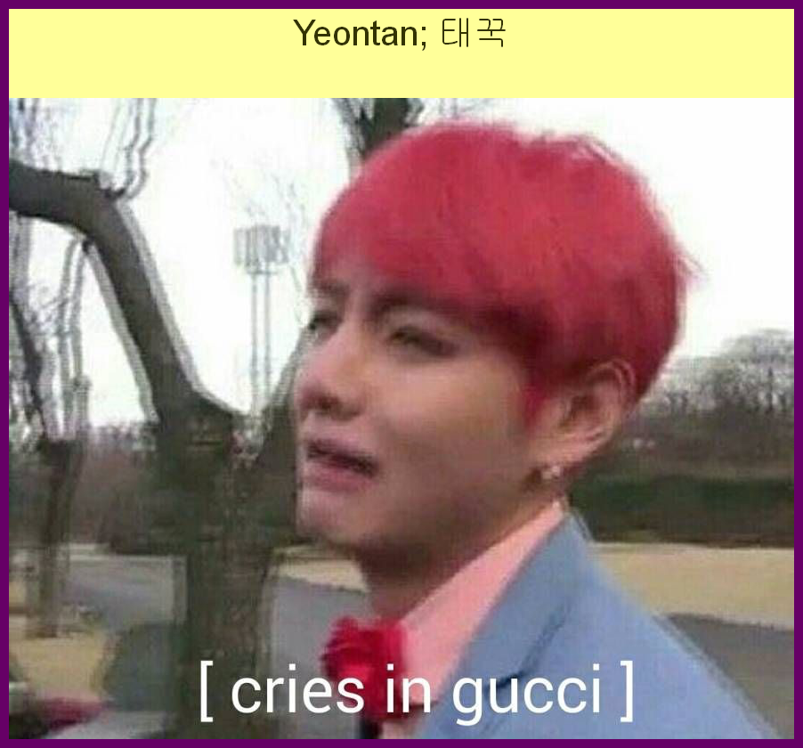 Cries In Korean Bts Reaction Memes Army S Amino Meme On Me Me