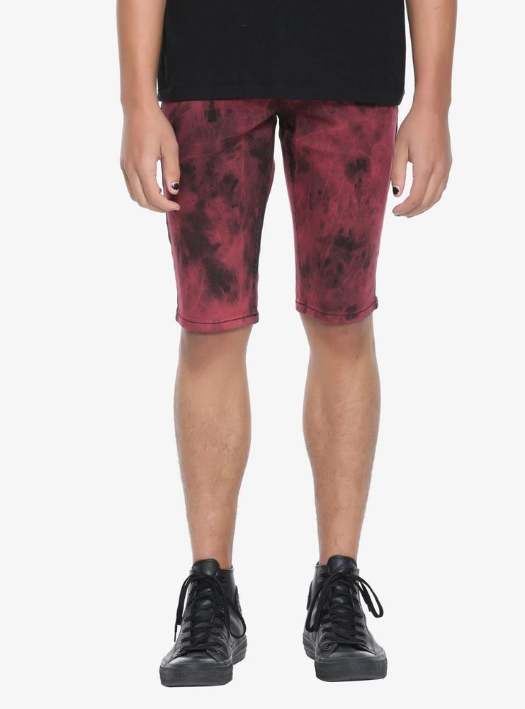 003dba0269 RUDE Mens Size 32 Red Black Tie Dye Denim Skinny Shorts Punk Rock Goth Hot  Topic #fashion #clothing #shoes #accessories #mensclothing #shorts (ebay  link)