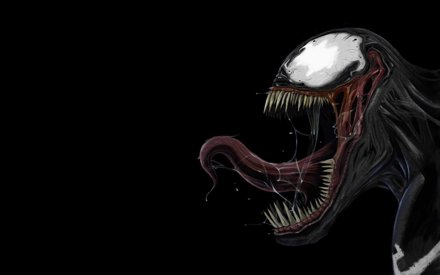 Spiderman venom wallpaper art wallpapers pinterest