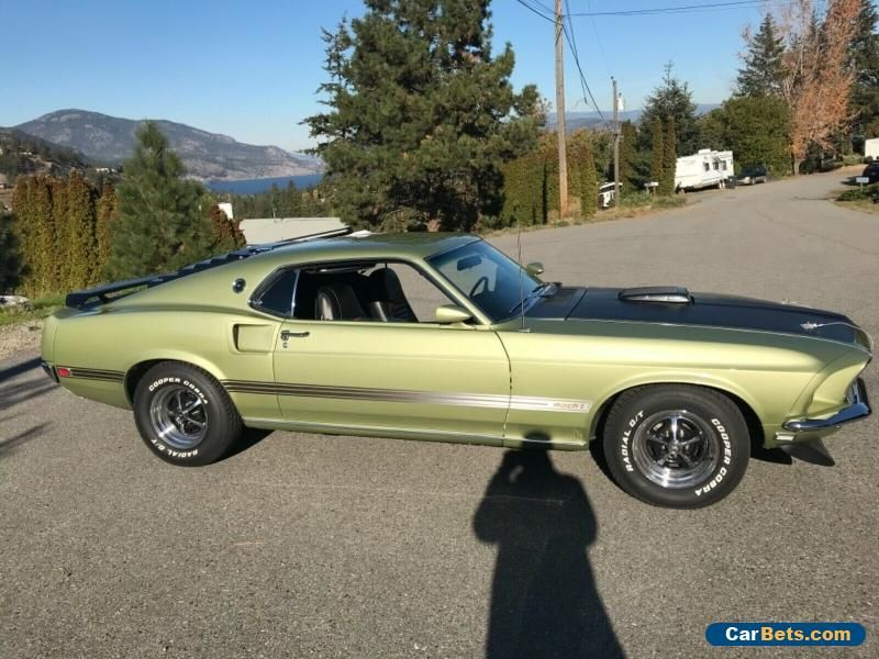 Car For Sale 1969 Ford Mustang Ford Mustang Mustang Ford