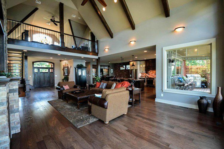 Rustic House Plans Our 10 Most Popular Rustic Home Plans House Plan With Loft Rustic House Plans Living Room Floor Plans