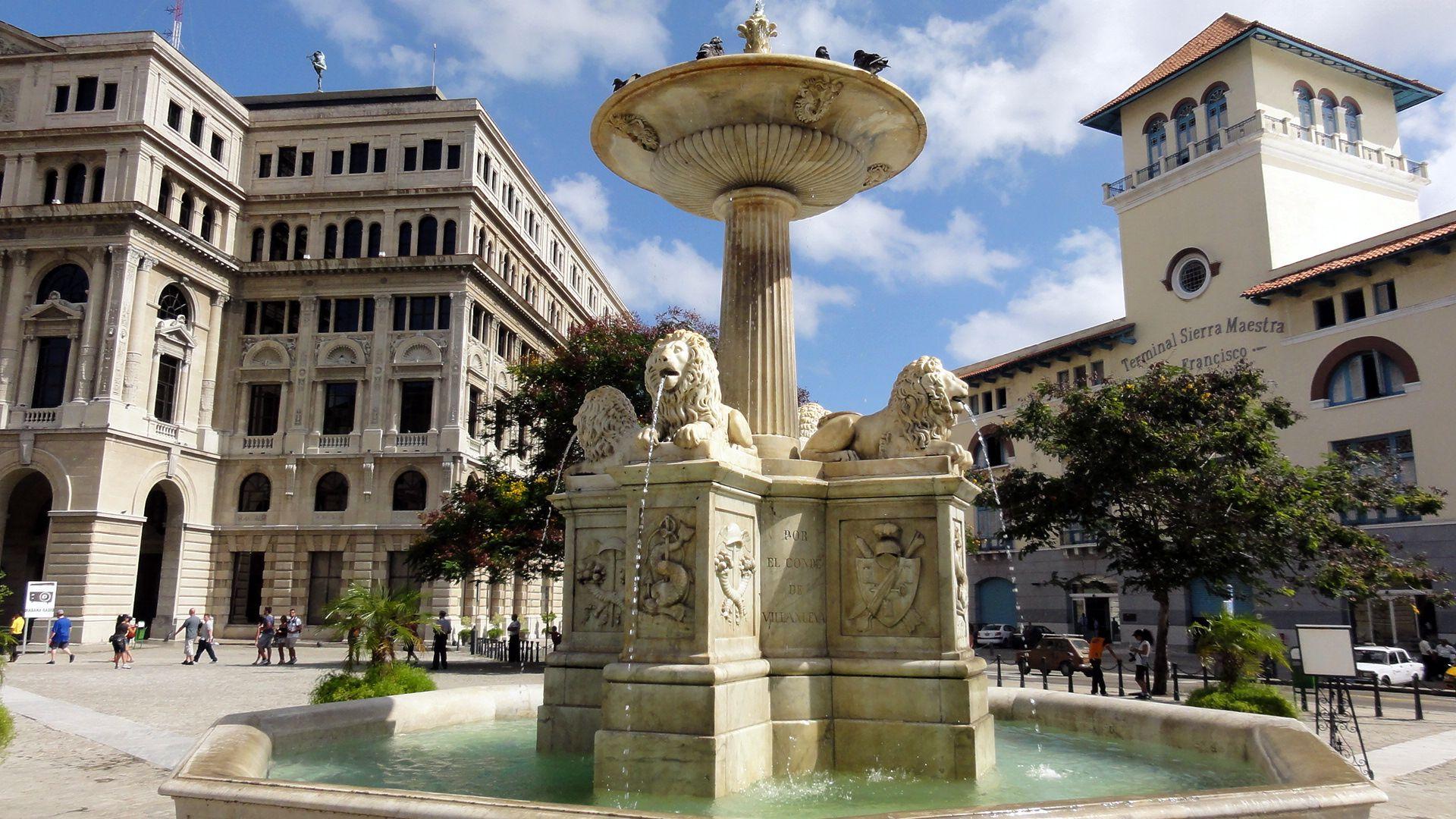 Plaza de San Francisco de Asís, Cuba
