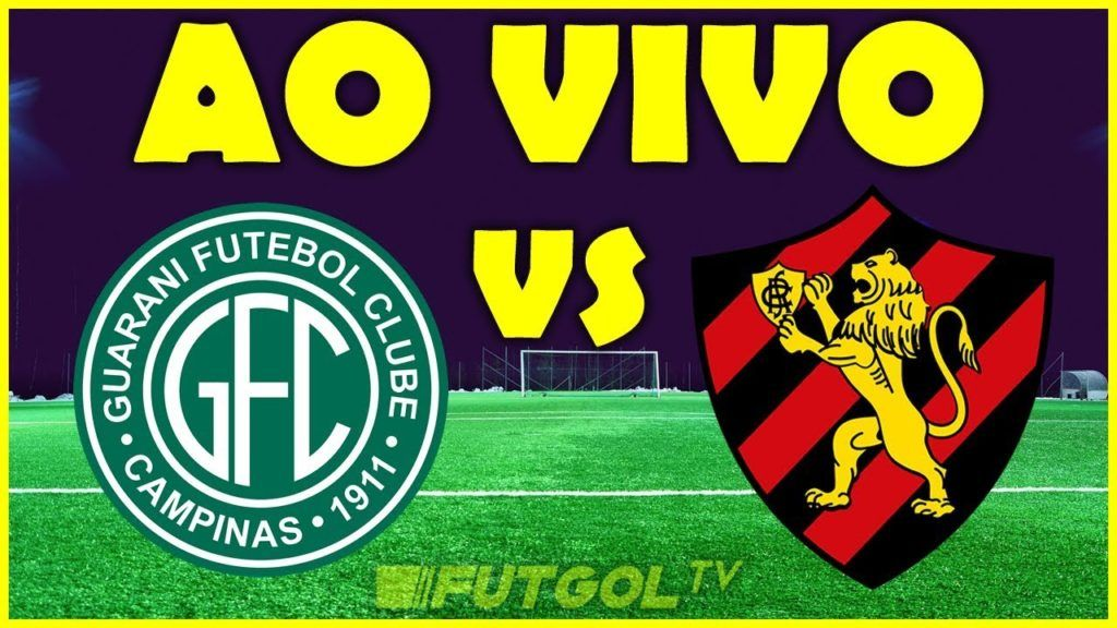 Assistir Ao Vivo Guarani X Sport Futebol Na Tv E Premiere Globo