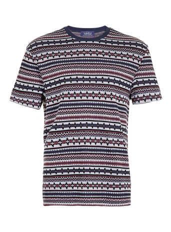 #Multi patterned textured t-shirt misure Xxsmlxl  ad Euro 14.00 in #Topman #Clothing mens t shirtsvests