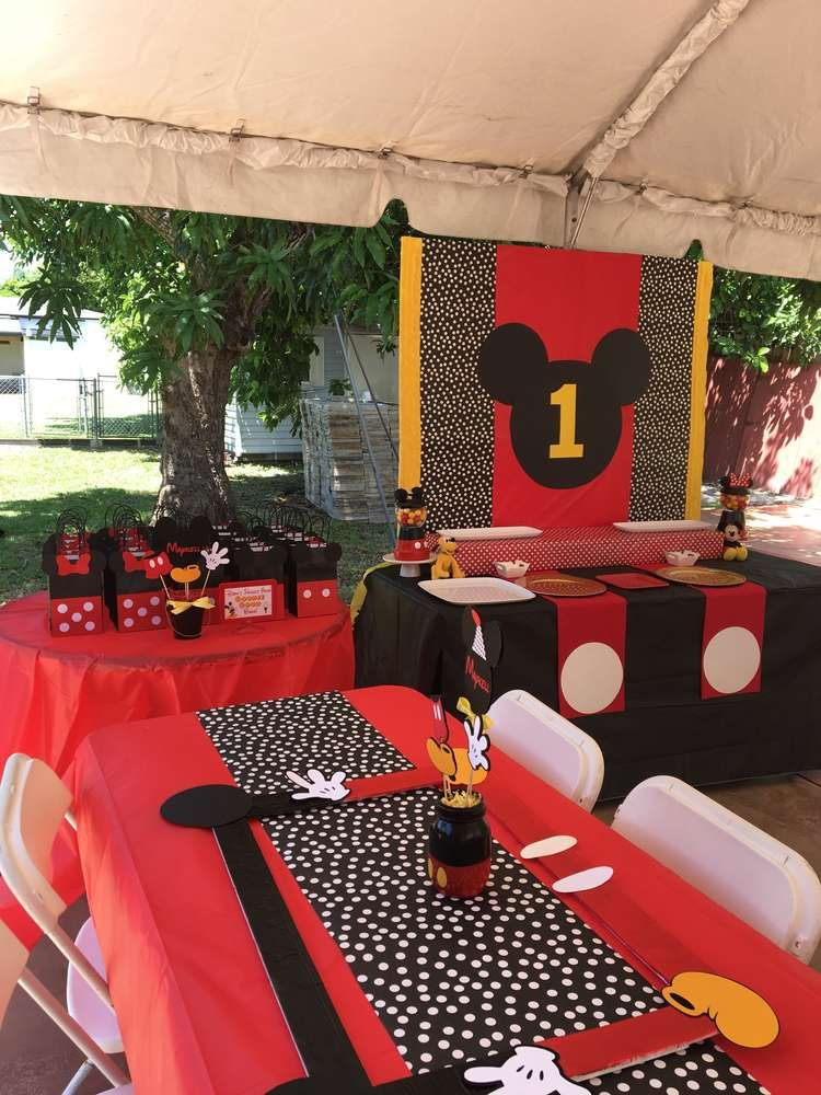 Mickey Mouse Birthday Party Ideas Ideas For A Birthday
