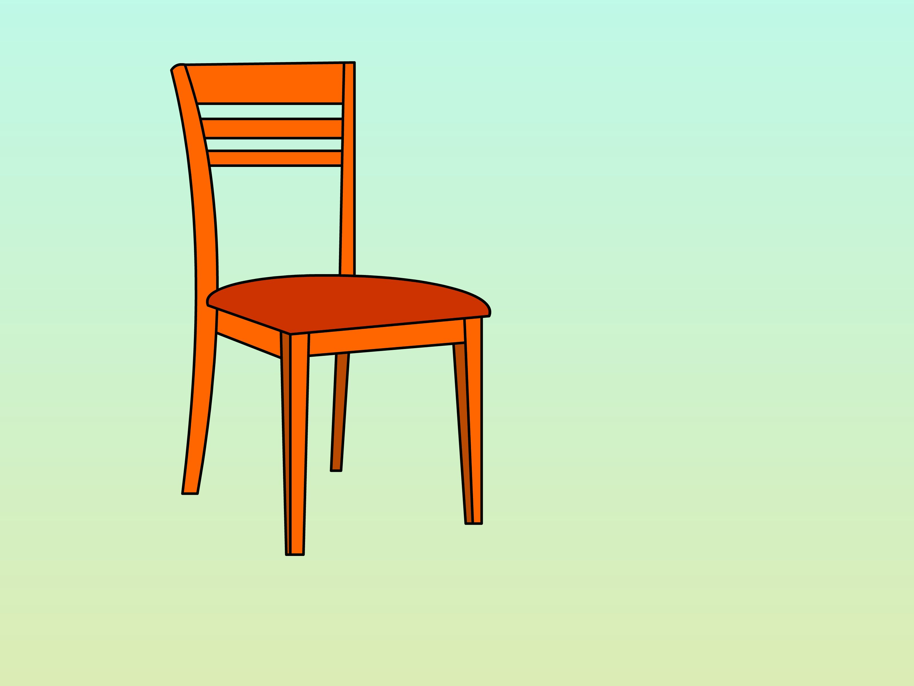 How to make a simple wooden chair - Draw A Chair