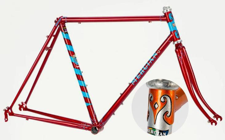 Mercian Cycles Vincitore Special 853 Pro Team — £1,660 | steel frame ...