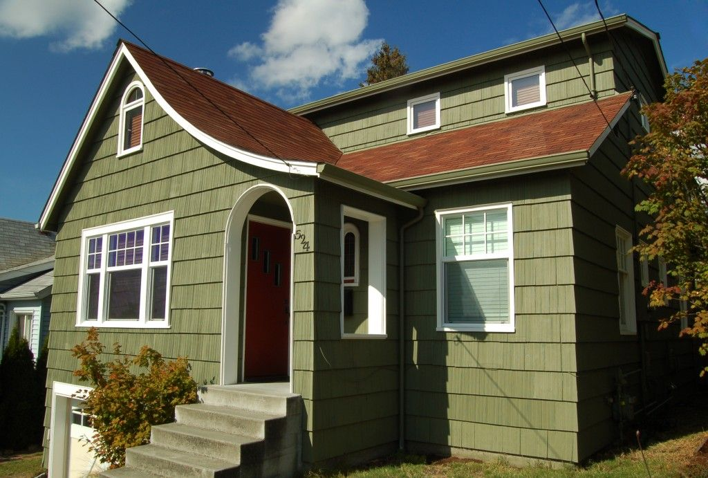 Ordinary Green Outdoor Paint Part - 4: Craftsman Exterior