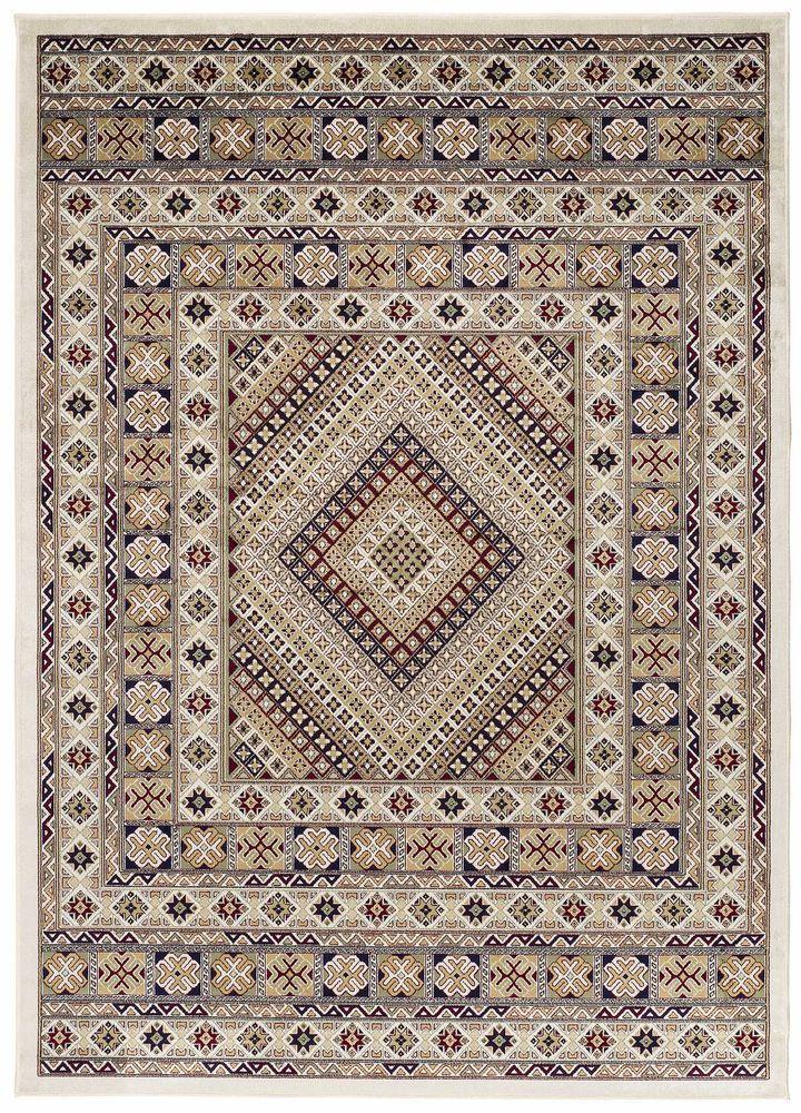 Teppich Wohnzimmer Orient Carpet klassisches Design HARMONY - teppich wohnzimmer beige