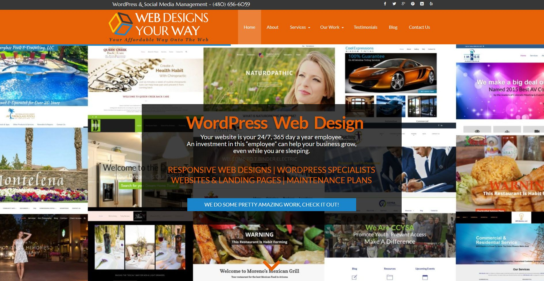 Web Designs Your Way Located In Chandler Az Is A Search Engine Friendly Website Design Company Special Website Design Company Web Design Wordpress Web Design