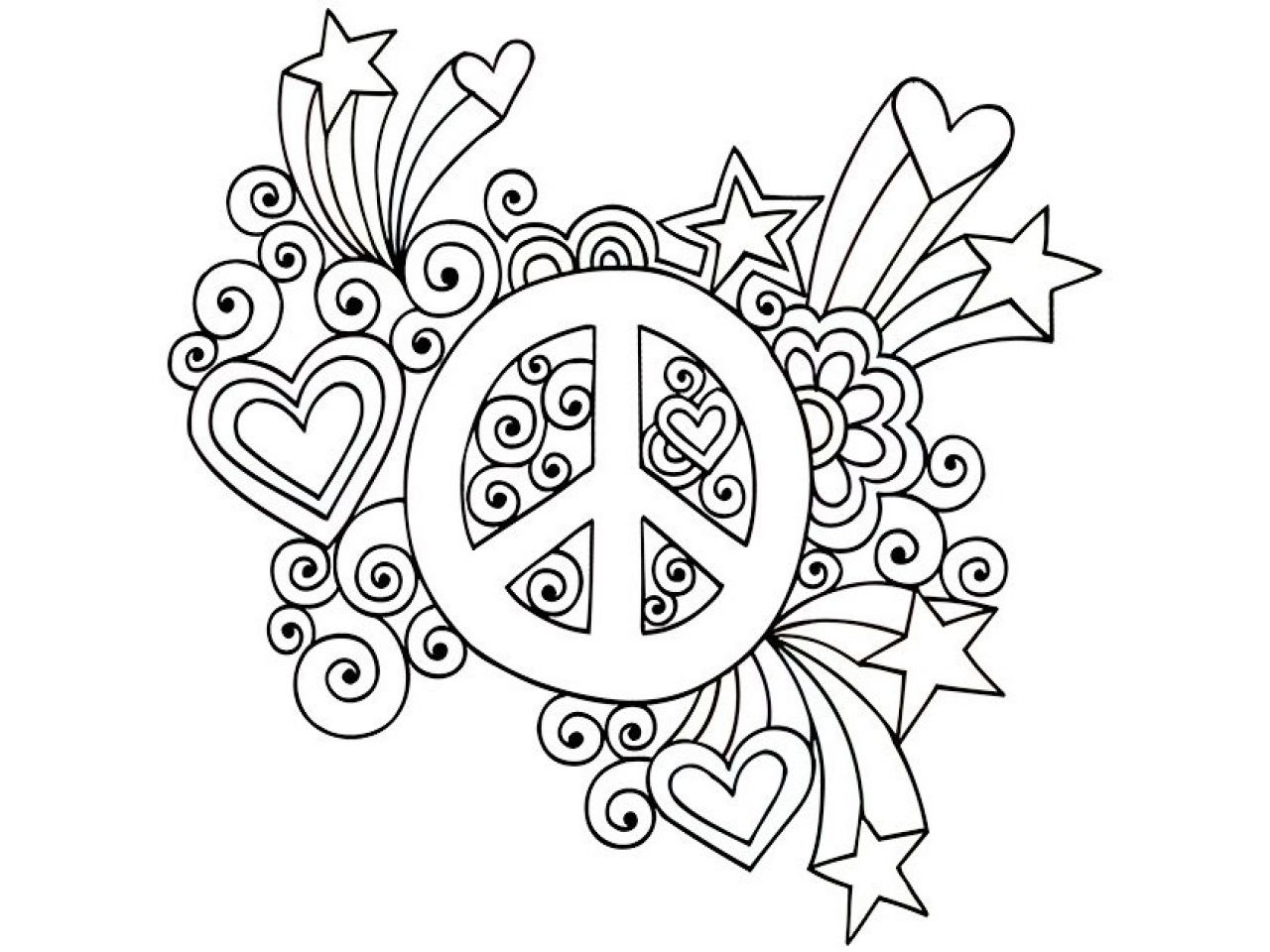 Image result for flower peace sign tattoo | Hippie - journey to ...