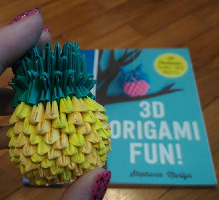 3d Cake Image: 3d Origami Book | 704x768