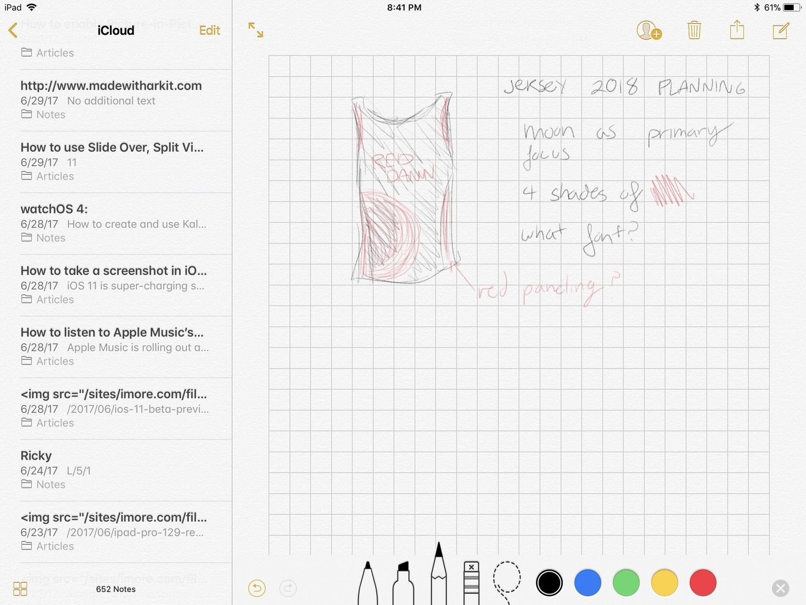 The best apps for handwriting with the Apple Pencil and