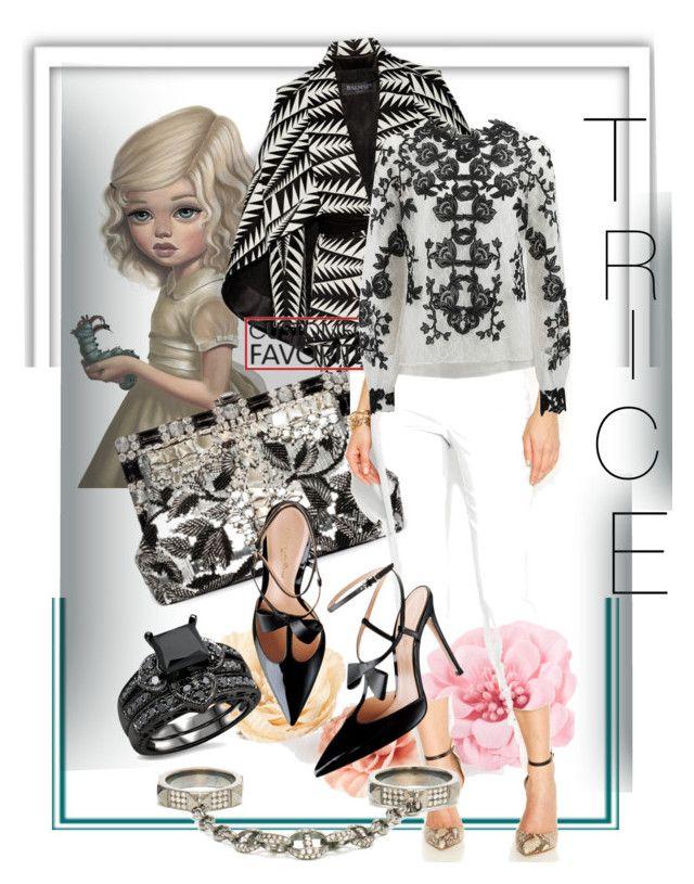 """Get right back.~~7⃣"" by tricewillbe ❤ liked on Polyvore featuring Bebe, H&M, Balmain, Alfani, River Island, Loree Rodkin, Oscar de la Renta, women's clothing, women and female"