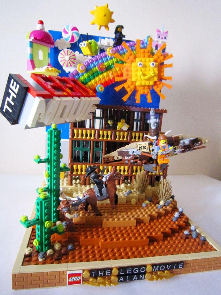 Lego Movie Moc 3 Lego Design Cool Lego Creations Lego Sculptures