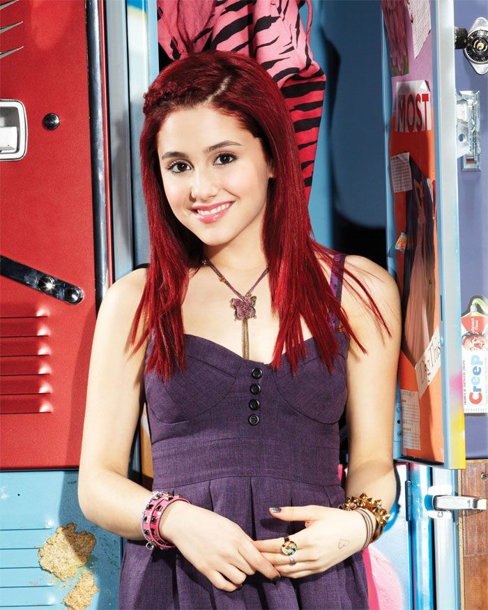 Cat Valentine in Nick TV show Victorious   Ariana grande red hair ...
