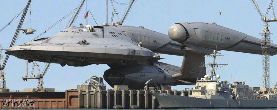 Pierre Drolet SciFi Museum USS Jefferies Project