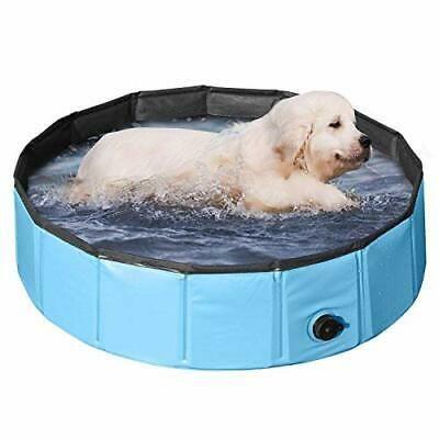 PVC Pet Foldable Swimming Pool Dogs Cats Bathing Tub