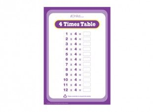 Help your child can learn their four times table with this question help your child can learn their four times table with this question sheet ichild ibookread Read Online