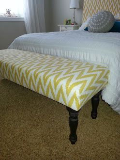 Wondrous How To Make An Upholstered Bench For The Home Diy Bench Ibusinesslaw Wood Chair Design Ideas Ibusinesslaworg