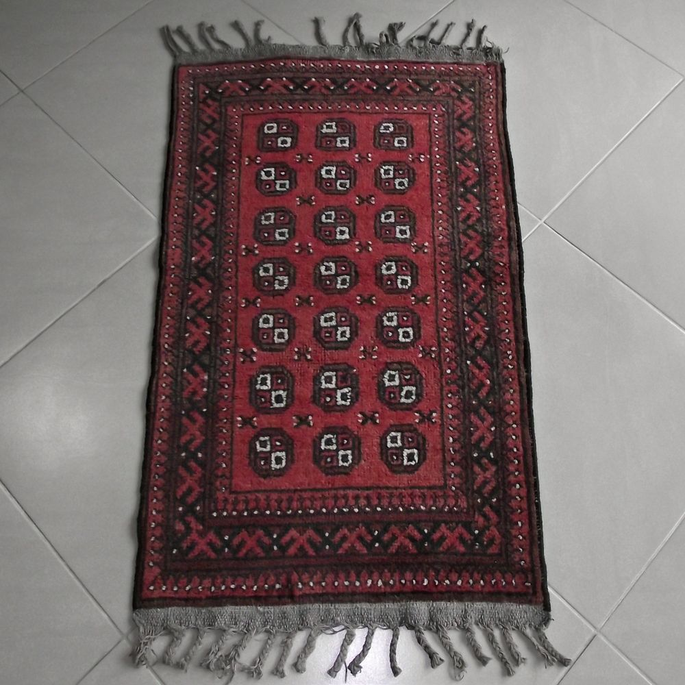 Turkish Anatolian Antique Handmade Wool Rug Kilim Oushak Carpet 23 6x43 Inch