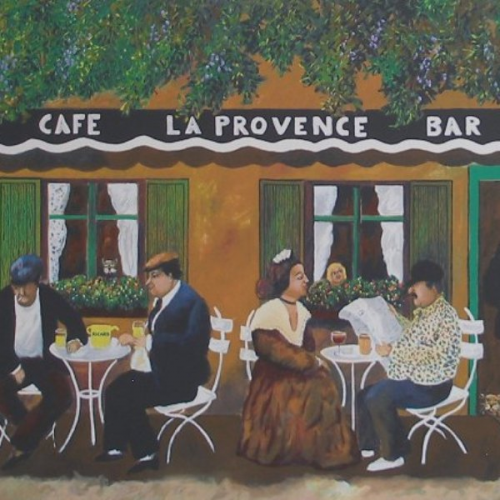 Cafe La Provence by Guy Buffet