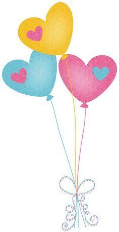 Heart Balloons Clip Art Balonne Pinterest Clip Art Balloons - Clip-art-of-heart